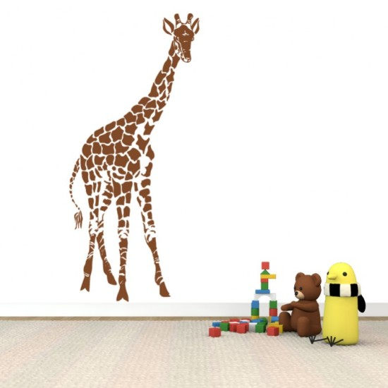 Giraffe Vinyl Sticker