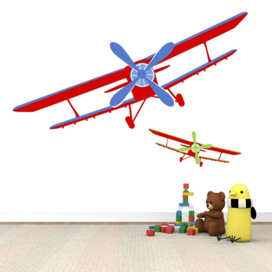 Airplanes Wall Sticker