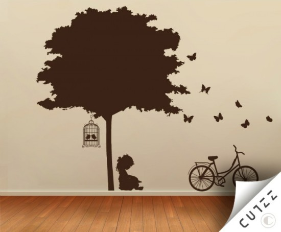 wall vinyl sticker