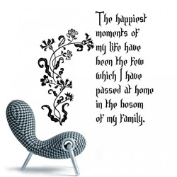 Quote by Thomas Jefferson Wall Decal