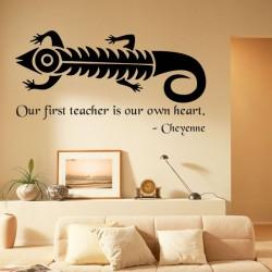 Cheyenne Proverb Wall Decal
