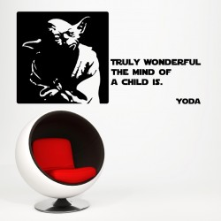 Yoda's Quote Wall Decal