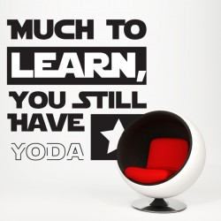 Yoda Quote Wall Decal