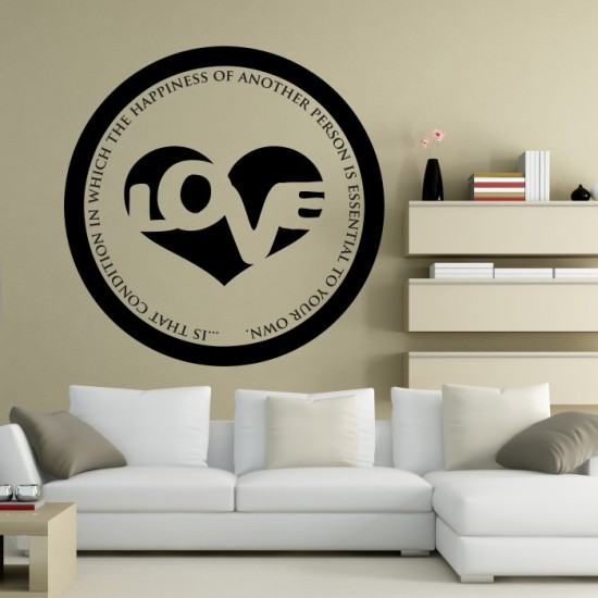 Love is.. Wall Decal