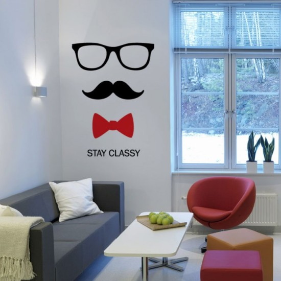 Stay Classy Wall Decal