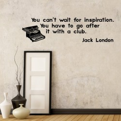 Jack London's Quote Wall Decal