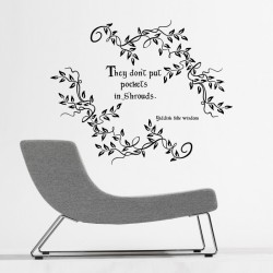 Yiddish Folk Wisdom Wall Decal
