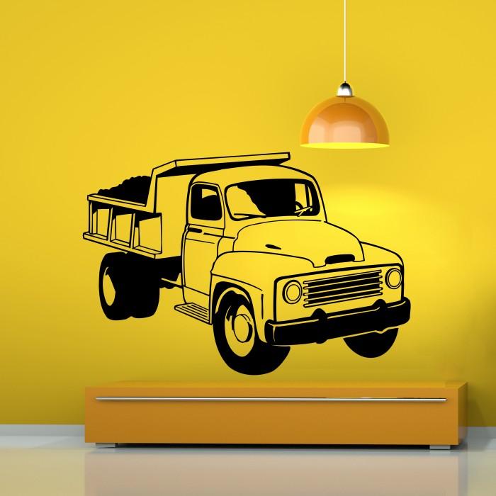 truck vinyl wall sticker cutzz