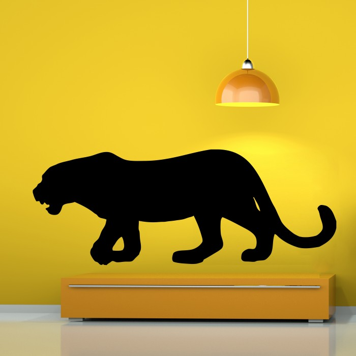Black panther wall decal cutzz for Black panther mural