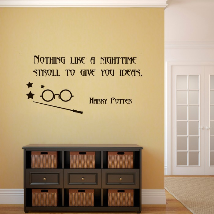Mad Eye Moody Quote Wall Decal