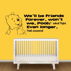 Winnie The Pooh Quote Wall Decal