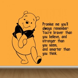 Christopher Robin Quote Wall Decal