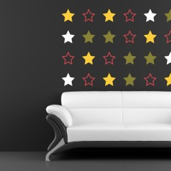 stars wall sticker