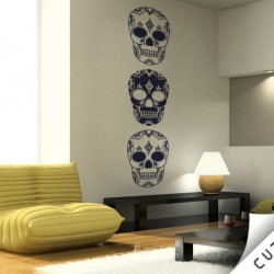 Skull Vinyl Wall Decal