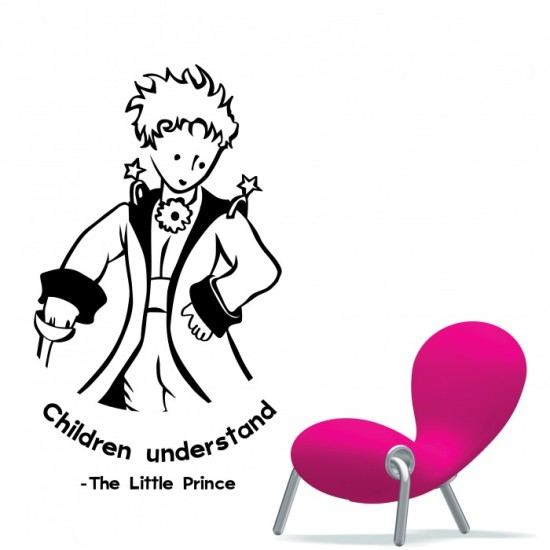 The Litle Prince Wall Decal