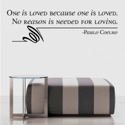 Quote By Paulo Coelho Wall Decal